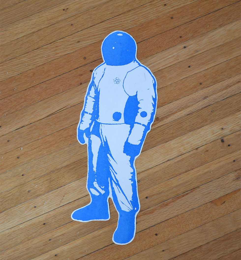 Spaceman artwork now available for you to own. [IMAGE: SPACEMAN]