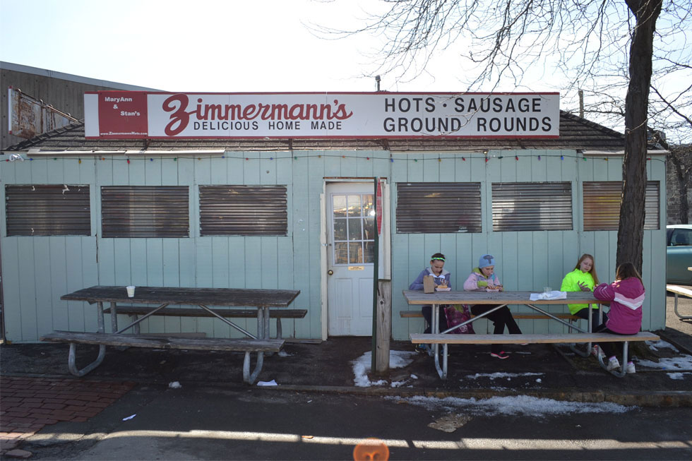 Zimmermann's Hots. North Union St. Rochester, NY. [PHOTO: RochesterSubway.com]