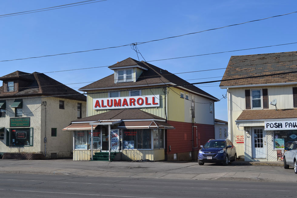 Alumaroll. East Ridge Road. Rochester, NY. [PHOTO: RochesterSubway.com]