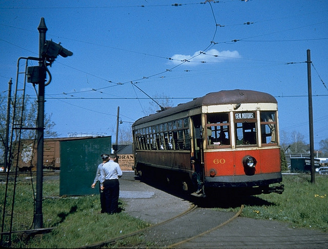 The last remaining Rochester subway car... #60. [PHOTO: Rochester & Genesee Valley Railroad Museum]