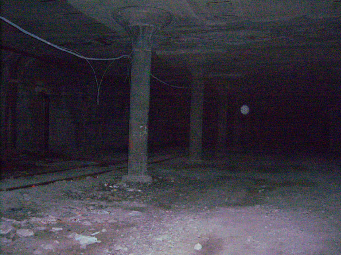 Aaron Killeen says he and some friends felt something strange on a walk through the abandoned Rochester subway tunnel in 2008. He snapped this photo from over his shoulder as they ran out of there.