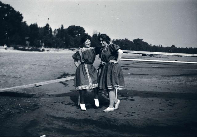 Vintage swimwear. Rochester NY. [IMAGE: Rochester Public Library, Local History Division]
