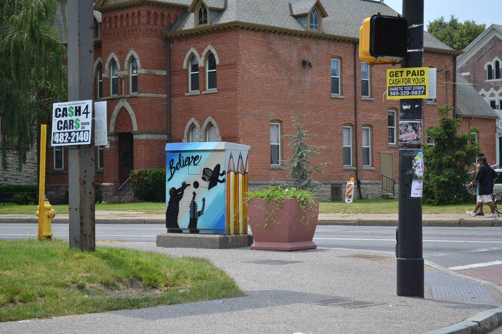 13 Traffic Signal Box Murals