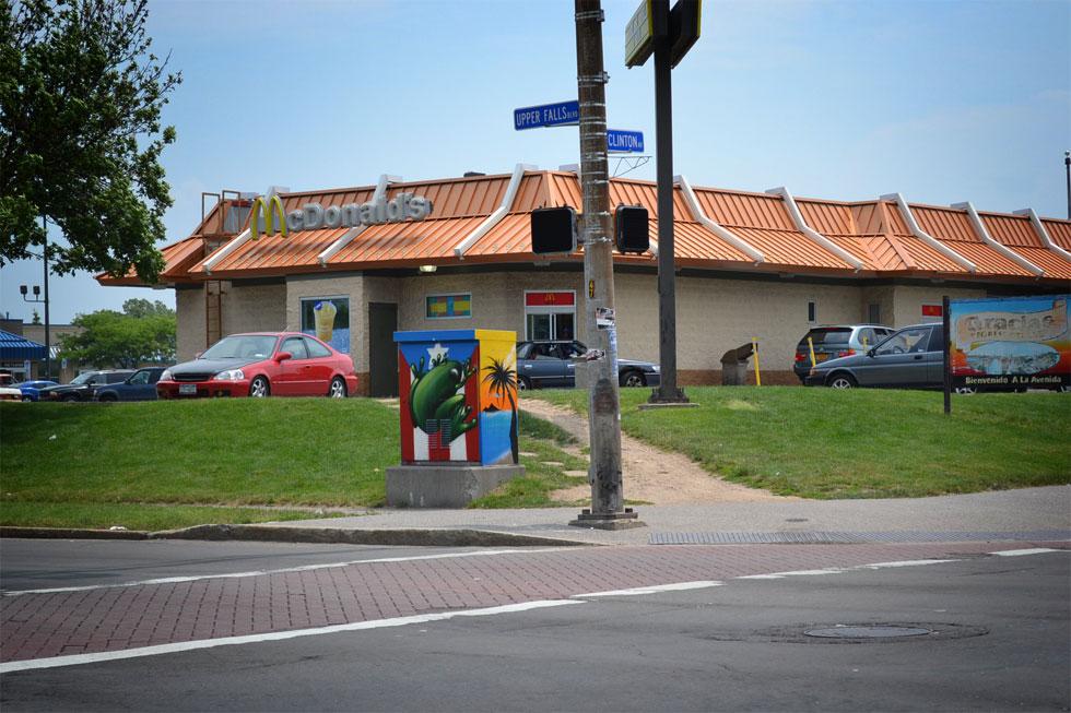 13 Traffic Signal Box Murals. [PHOTO: RochesterSubway.com]