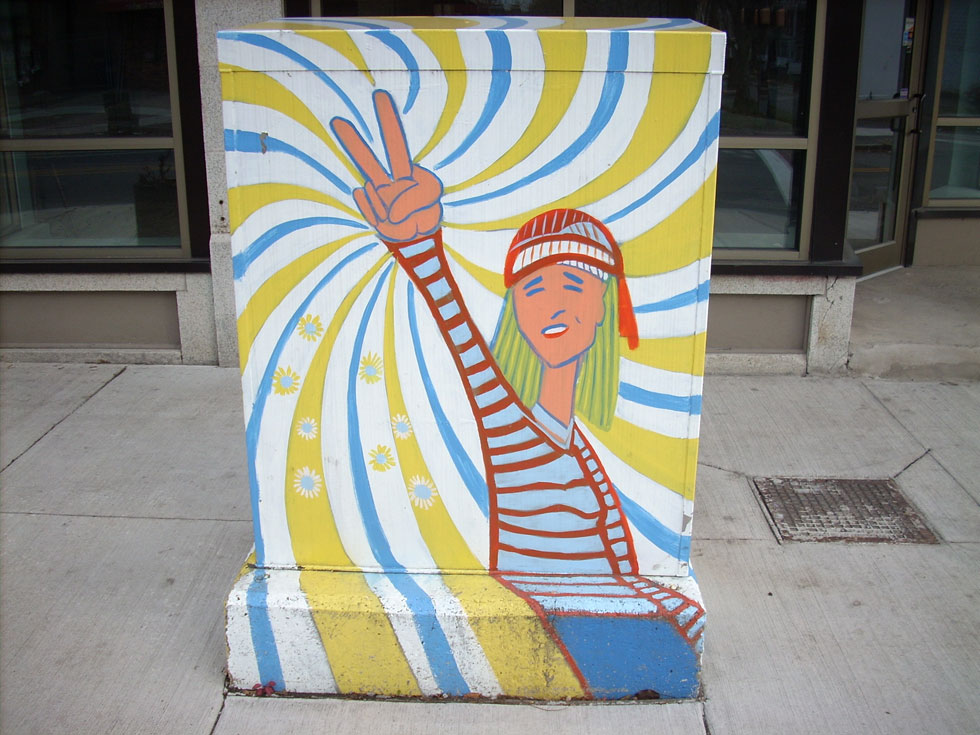 13 Traffic Signal Box Murals. [PHOTO: Nicholas Swann]
