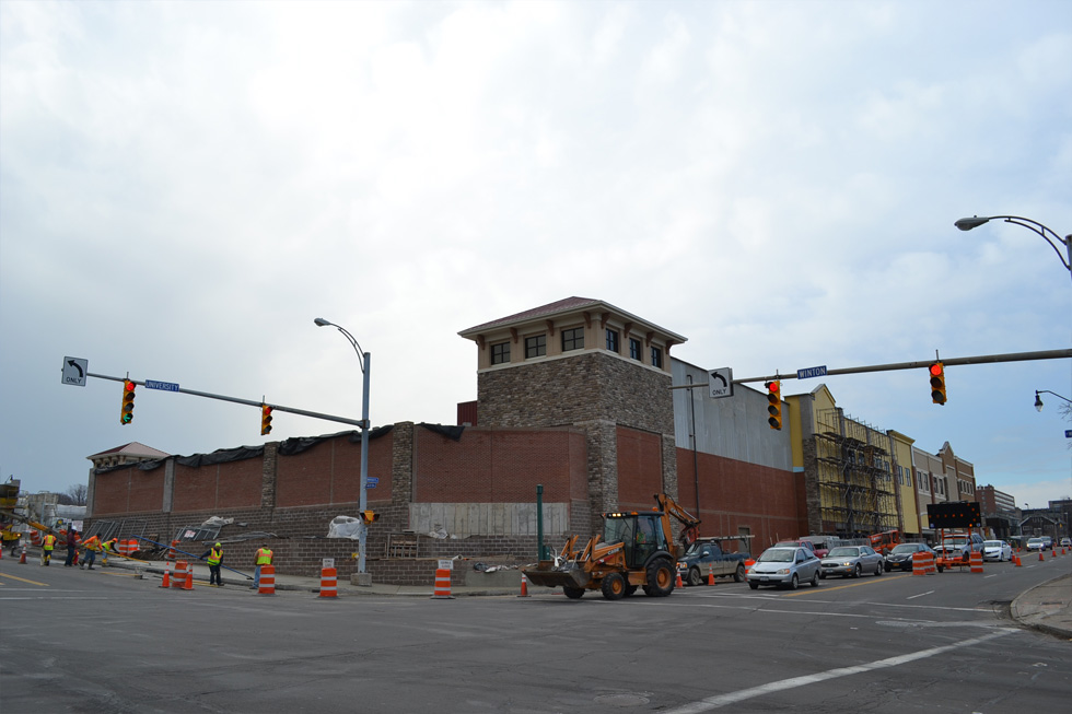 The new East Avenue Wegmans as seen from Winton Road and University Avenue. [PHOTO: RochesterSubway.com]