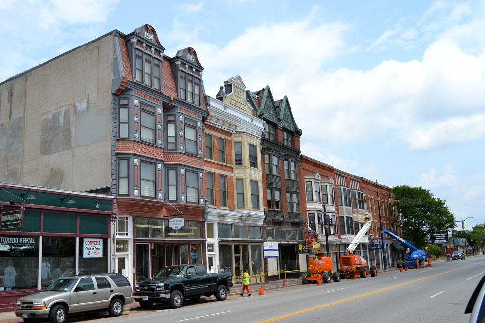 West Main Street, Rochester NY.