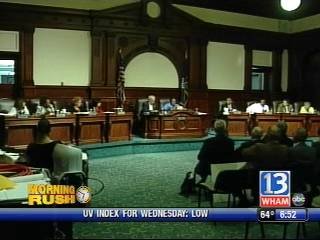 24 citizens spoke regarding the Mortimer Street Bus Terminal Tuesday night at City Hall in front of Council members, the media, and a standing-room-only crowd.