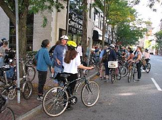 Rochester Contemporary Art Center's Bike Tour of Street Art.