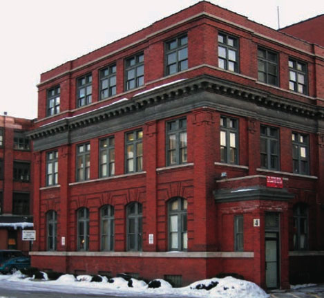 The RRCDC office at the Hungerford Complex, East Main Street. This building features a design gallery and resource library free and open to the public.