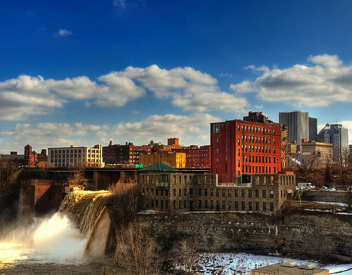 High Falls, Rochester NY.