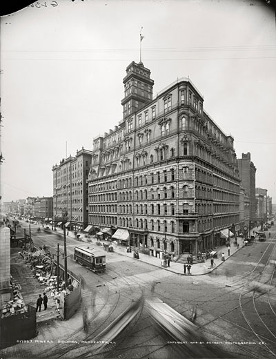 The Powers Building, Rochester, N.Y. (photo: Detroit Publishing, 1904.)