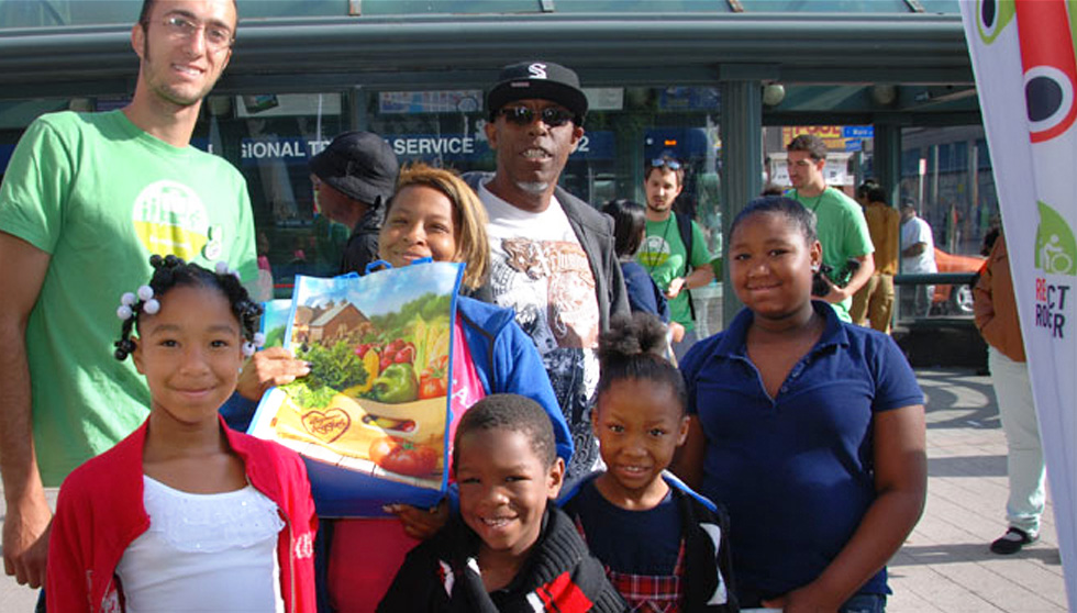 We saw a 73% jump in the number of individuals who used their transit passes ROC Transit Day 2014 – and even more smiles. [PHOTO: John DeRycke]