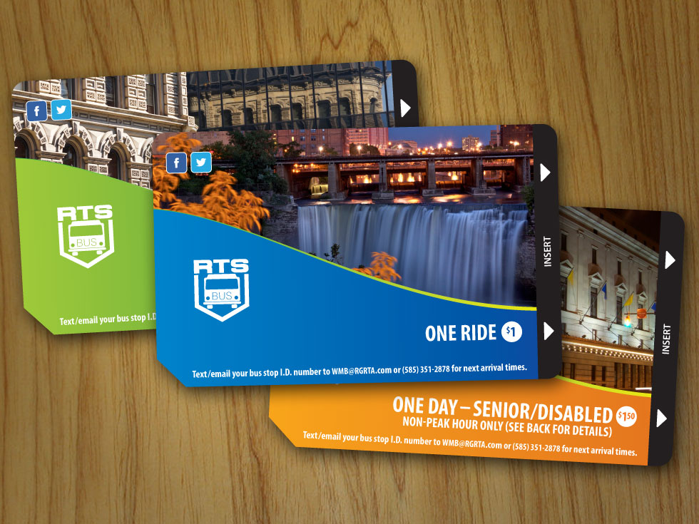 I decided I didn't like Rochester's bus passes. So I redesigned them. This time for real.