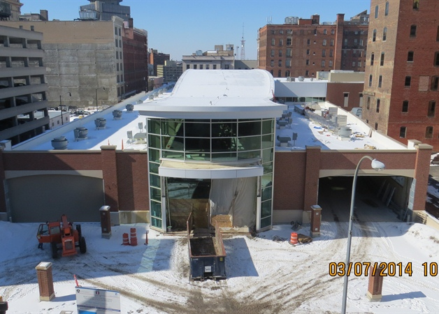 The new RTS Transit Center will be opening on November 28th, 2014. Coinciding with the transit center opening, RTS is also proposing changes to bus routes and schedules. [PHOTO: RGRTA]