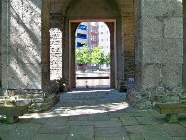 Saint Joseph's Park, downtown Rochester NY.