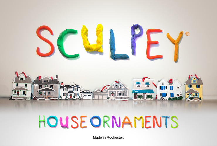 And of course you can still get your house handmade out of Sculpey.