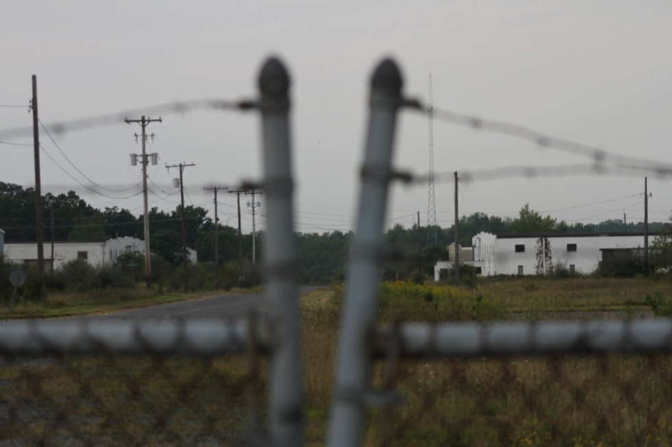 In late 2016, the Army Corpse of Engineers, who maintain the fence around the Seneca Army Depot, will complete their environmental cleanup of the site. The fence containing the Seneca White Deer population will likely be removed. [PHOTO: Matthew Ehlers]