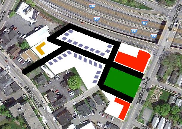 Site plan concept.