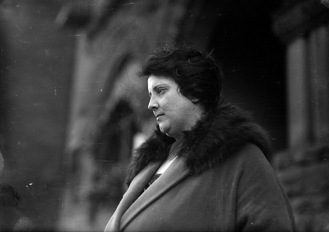 Mrs. Grace Begy ran a 'Prohibition saloon' at 70 Stillson Street. She was called as a material witness in the murder case against Owen DeWitt for the death of J. Frank O'Connor. I bet she's got some stories to tell. [PHOTO: Albert R. Stone Collection]