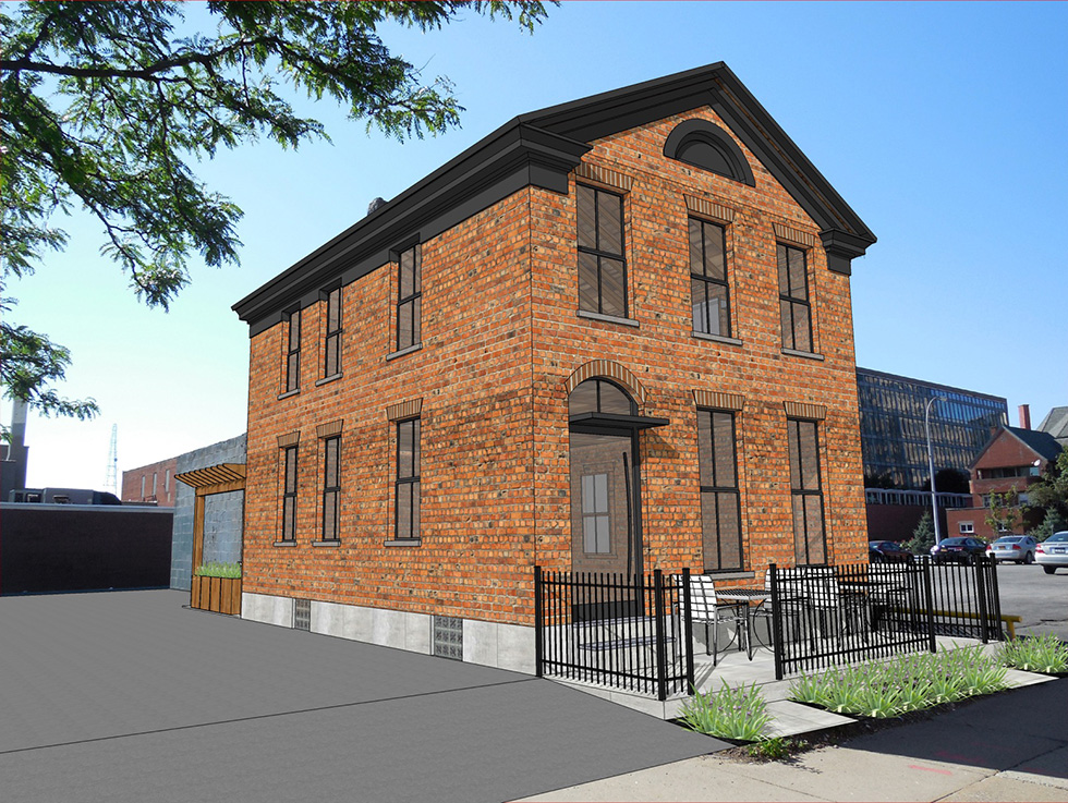 Rendering of 35 St. Mary's Place. [IMAGE: Provided]