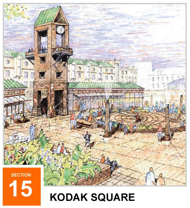 Stadiumville concept for Rochester: Kodak Square