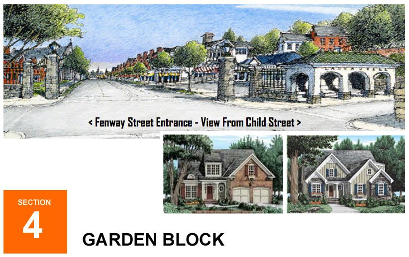 Stadiumville concept for Rochester: Garden Homes