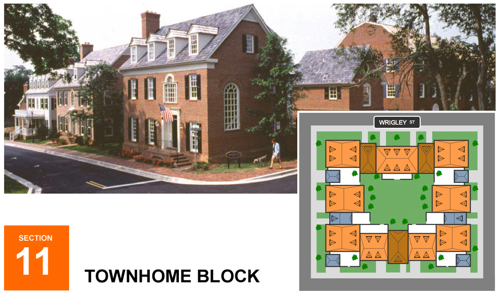 Stadiumville concept for Rochester: Townhomes