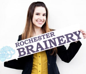Stephanie Rankin, co-founder of Rochester Brainery.