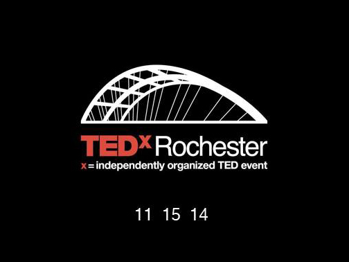 TEDxRochester is November 2014. Register before October 8.