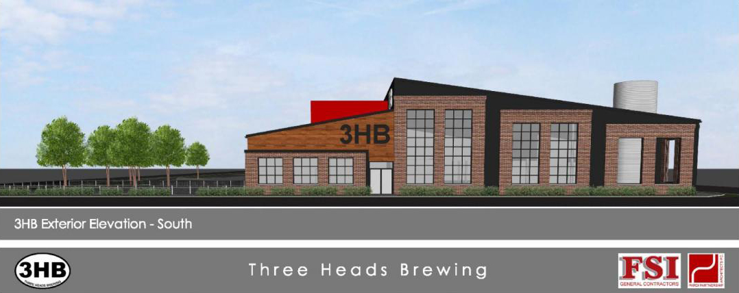 The 19,500 square foot building will primarily be a manufacturing facility, but will also include retail sales, an indoor tasting room, and outdoor patio.