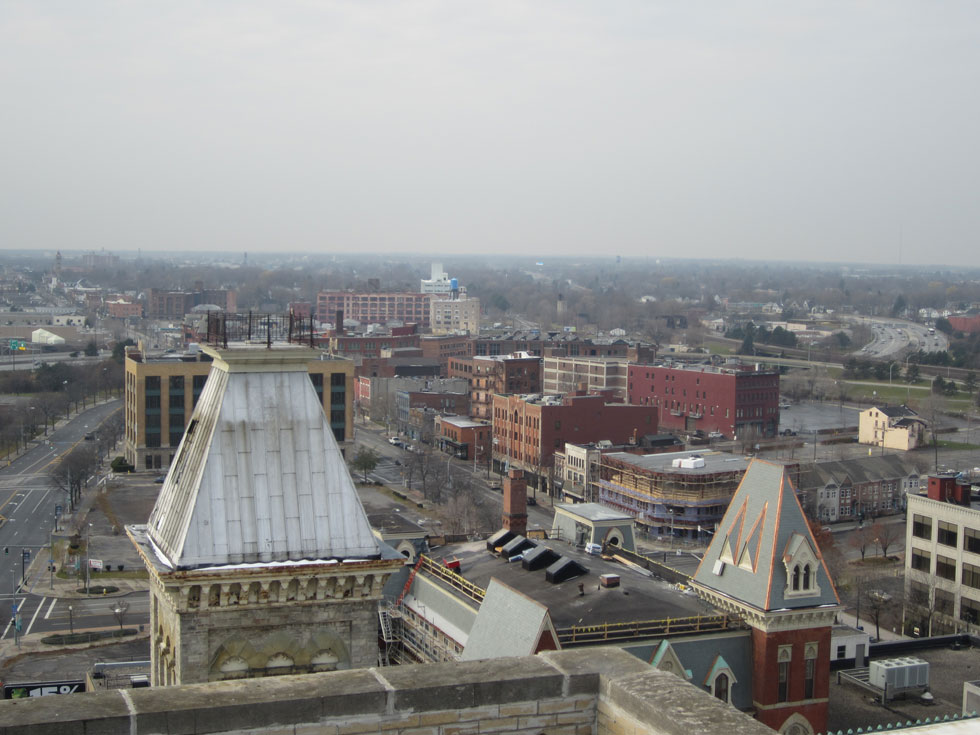 Check out the view. This is looking west. [PHOTO: Ryan Green]
