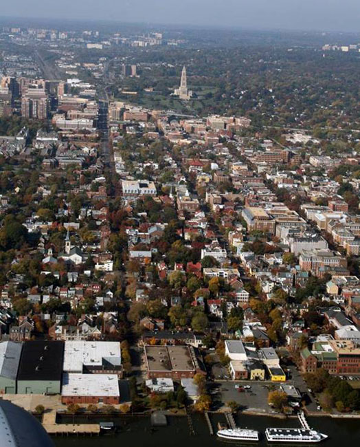 Consider the example of Alexandria, Virginia. Originally platted in 1749. Six fundamental tenets of Traditional Neighborhood Development (TND) differentiate this inviting river city from generic drivable suburbanism.