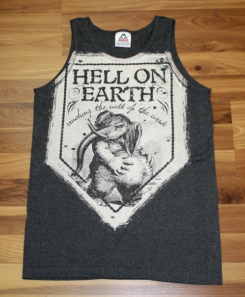 Hell on Earth Clothing Line [PHOTO: Tiny Fish Printing]