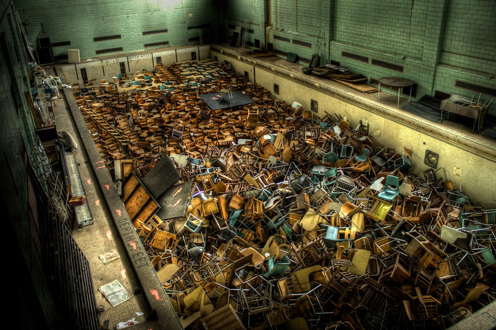 A Little Known Abandoned Swimming Pool At University Of Rochester Image Chris Seward