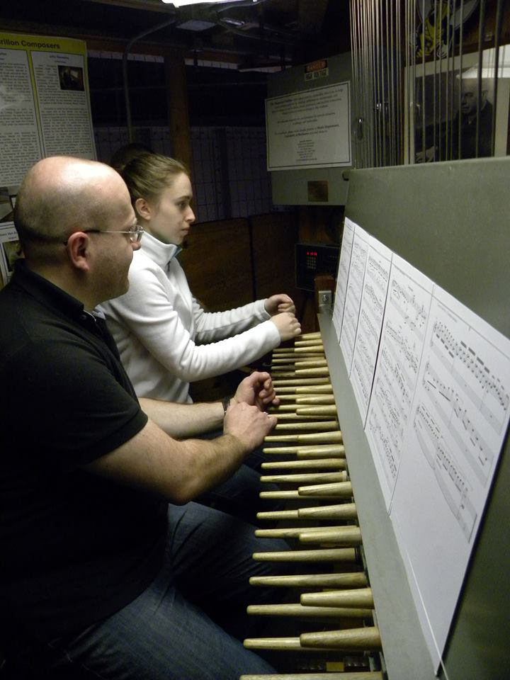 Here's your chance to play the bells of the Rush Rhees Library at University of Rochester. [PHOTO: University of Rochester Carillon Society]