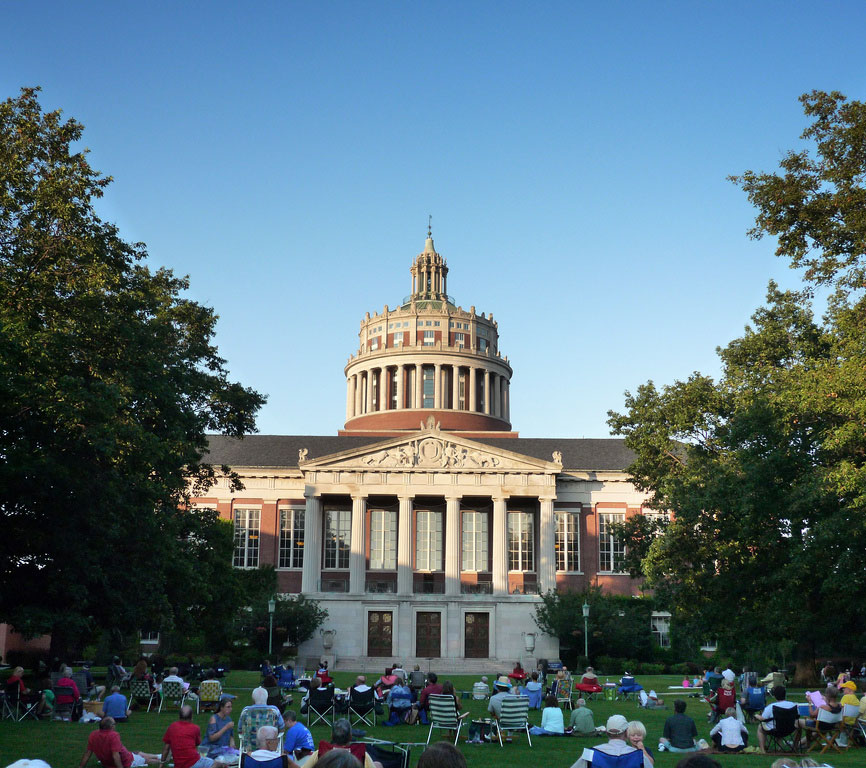 A summertime carillon concert at University of Rochester. [PHOTO: Flickr, Liren Chen]