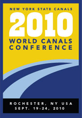 The 23rd World Canals Conference will be hosted in Rochester NY for 2010.