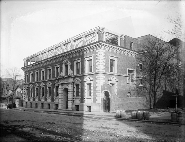The Y.W.C.A. building on North Clinton Avenue may have been designed by the same Otis of Rochester. At least this one was actually built.