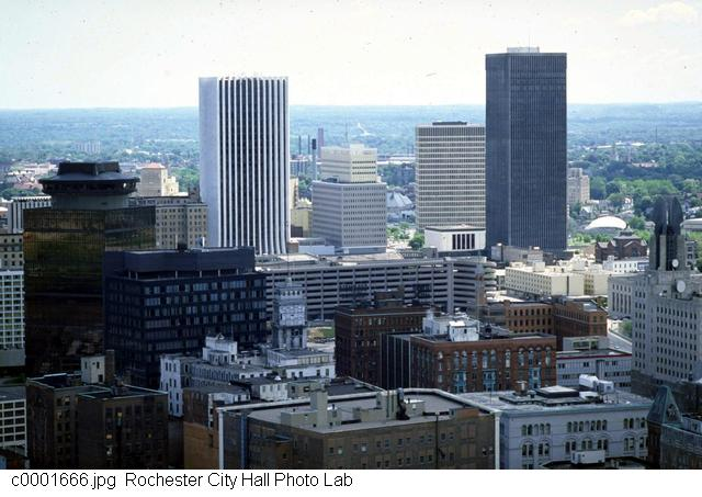 Downtown Rochester from the Cascade District [PHOTO: Rochester City Hall]