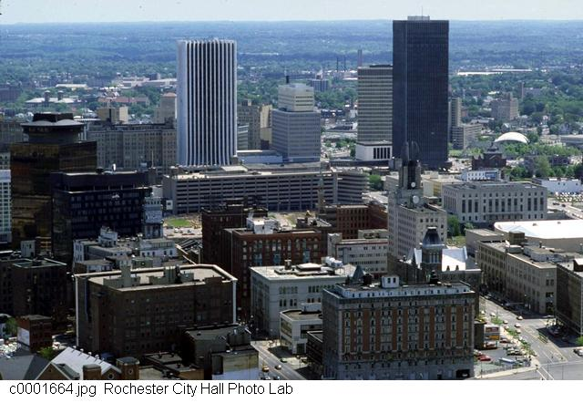 A view of the west side of downtown [PHOTO: Rochester City Hall]