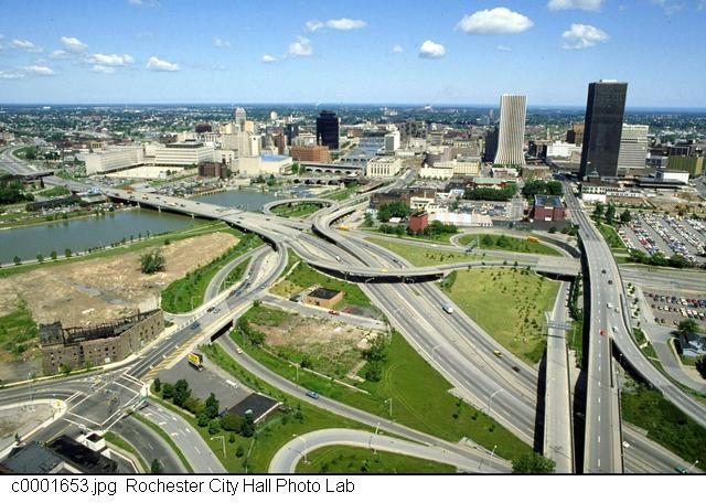 All highways all the time [PHOTO: Rochester City Hall]