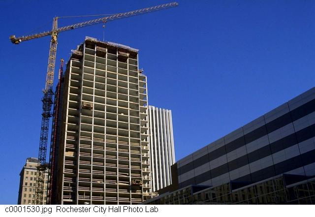 Hyatt Under Construction [PHOTO: Rochester City Hall Photo Lab]