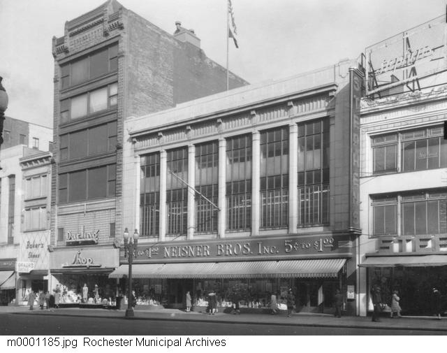 Neisner Brother's Department Store [PHOTO: Rochester Municipal Archives]