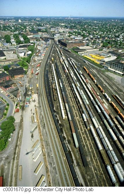 Goodman Street Rail Yard [PHOTO: Rochester City Hall]