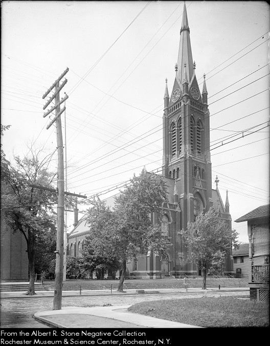 St. Boniface Church in 1911 [PHOTO: Albert R. Stone Negative Collection, Rochester Museum & Science Center]
