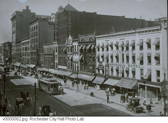 1910 View of Main Street [PHOTO: Rochester City Hall Photo Lab]