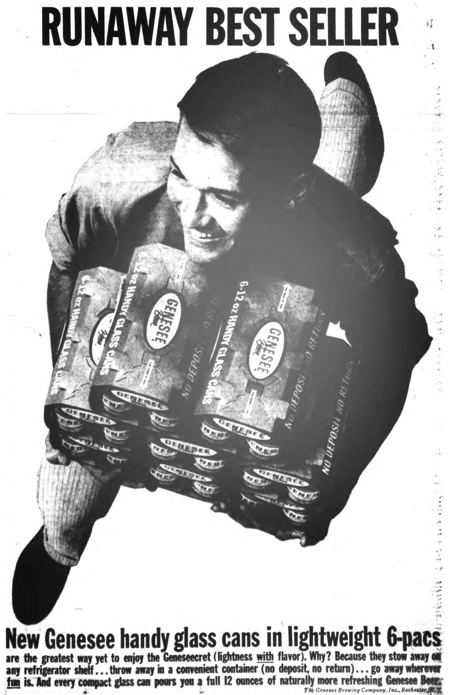 Get in on the Geneseecret [PHOTO: Genesee Ad from 1962]