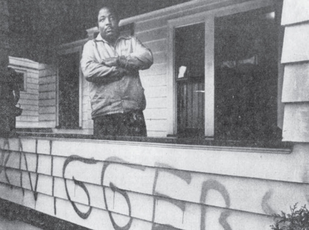 Black Home-owner in Rochester's 19th ward, 1979.