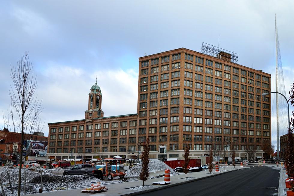 Rochester Big Apartment Building